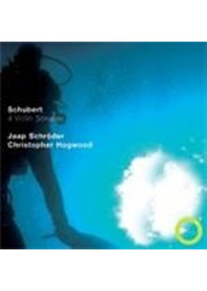 Franz Schubert - 4 Violin Sonatas (Schroder/Hogwood) (Music CD)