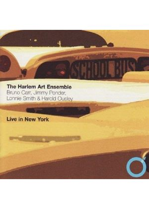 HARLEM ART ENSEMBLE - LIVE IN NEW YORK
