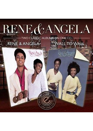 René & Angela - Rene & Angela/Wall To Wall (Music CD)