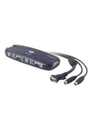 Belkin OmniView E Series 4 Port KVM Switch - KVM switch - 4 ports - 1 local user