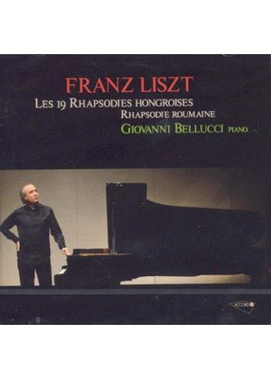 Liszt: Rhapsodies Hongroises; Rhapsodie Roumaine (Music CD)