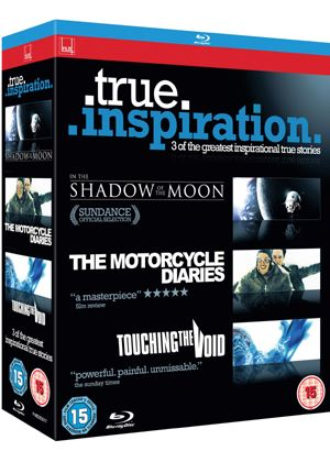In the Shadow of the Moon / Touching The Void / The Motorcycle Diaries (Blu-Ray)