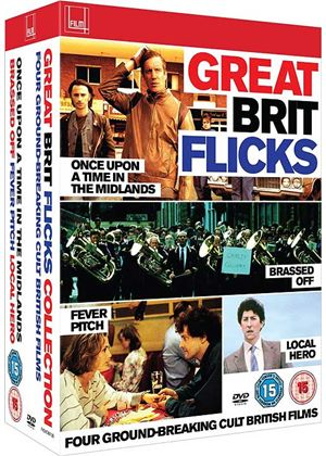 Great Brit Flicks Collection (Once Upon a Time in the Midlands - Brassed Off - Fever Pitch - Local Hero)