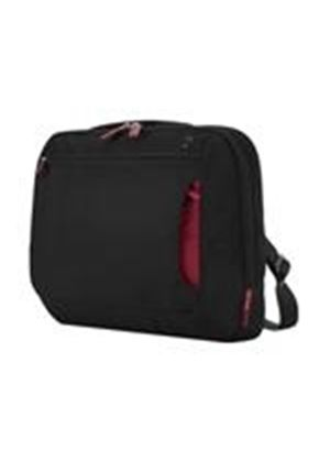 "Belkin 12.1"" 10/12"" Messenger Bag Notebook carrying case jet, cabernet"