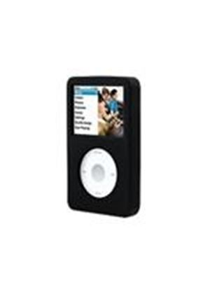 Belkin Silicone Sleeve for iPod classic - Protective sleeve for digital player - silicone - black - iPod classic