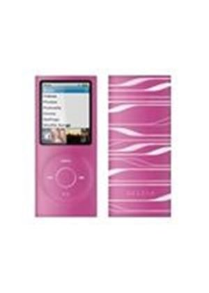 Belkin Sonic Wave Two-Tone Silicone Sleeve - Case for digital player - silicone - pink, translucent white - iPod nano (4G)