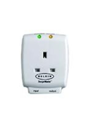 Belkin MasterCube - Surge suppressor ( external ) - AC 250 V - 1 output connector(s) - United Kingdom