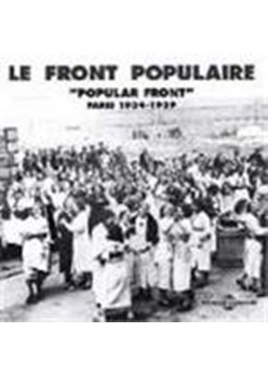 Various Artists - Le Front Populaire (Songs From Paris 1934-1939)
