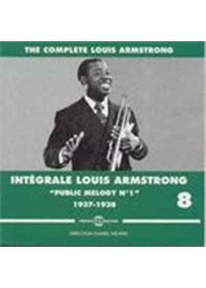 Louis Armstrong - Complete Louis Armstrong Vol.8 1937-1938 (Music CD)