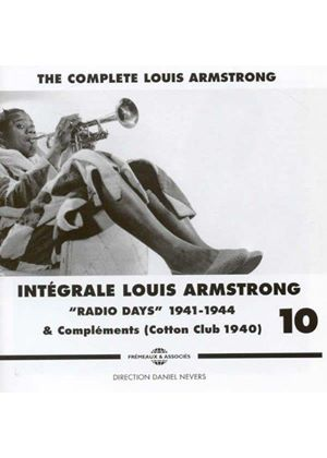 Louis Armstrong - Complete Louis Armstrong, Vol. 10 1941-1944 (Music CD)