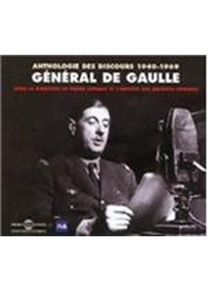 General De Gaulle - Anthologie Des Discours 1940-1969 [French Import]
