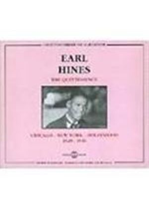 Earl Hines - Quintessence, The (Chicago-New York-Hollywood 1928-1946)
