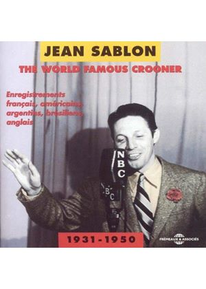 Jean Sablon - World Famous Crooner 1931-50 (Music CD)