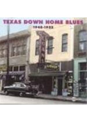 Various Artists - Texas Down Home Blues 1948-1952