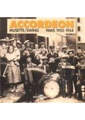 Various Artists - Accordeon Musette/Swing 1925-1954 (Music CD)