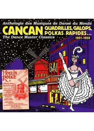 Various Artists - Dance Master Classics - CanCan, Quadrilles, Galops 1951-59 (Music CD)