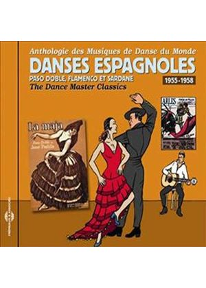 Various Artists - Dance Master Classics - Danses Espagnoles 1955-1958 (Music CD)