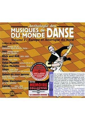 Various Artists - Musiques de Danse du Monde - Europe & N. America (10 CD) (Music CD)