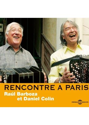 Daniel Colin - Rencontre a Paris (Music CD)