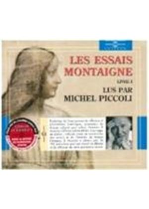 Montaigne - Les Essais - Book 1 (Michel Piccoli) [European Import]