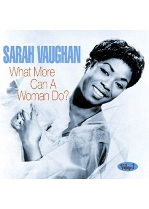 Sarah Vaughan - What More Can A Woman Do