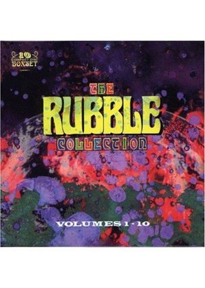 Various Artists - The Rubble Collection Vol. 1 - 10 [Limited Edition Box Set]