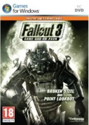 Fallout 3: Broken Steel & Point Lookout (Expansion Pack) (PC DVD)