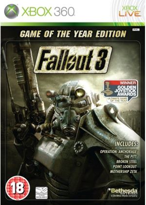 Fallout 3 - Game of the Year Classics (XBox 360)
