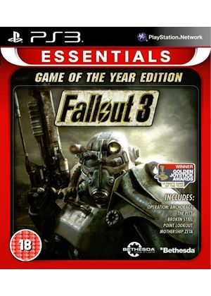 Fallout 3 - Game of the Year Essentials (PS3)