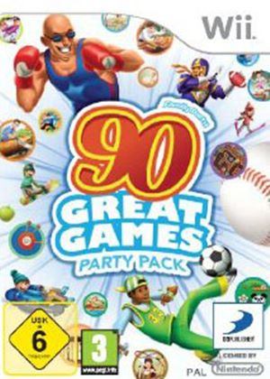 Family Party - 90 Great Games Party Pack (Wii)
