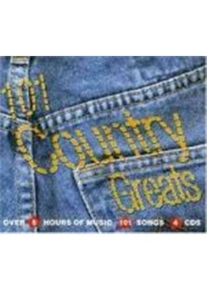 Various Artists - 101 Country and Western Greats (4 CD Boxset) (Music CD)