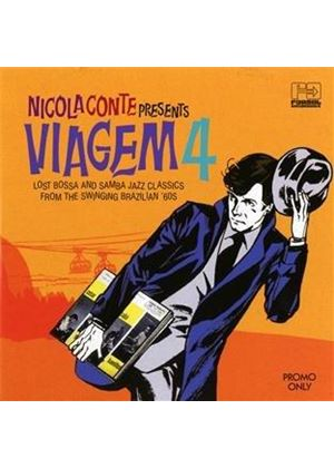Various Artists - Nicola Conte Presents (Viagem, Vol. 4) (Music CD)