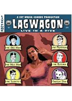 Lagwagon - Live In A Dive (Music CD)