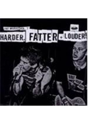 Various Artists - Harder Fatter And Louder (Music CD)