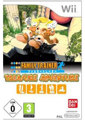 Family Trainer: Treasure Adventure (with Mat) (Wii)