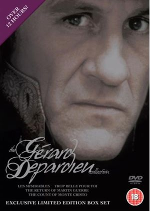 Gerard Depardieu Box Set (Count of Monte Cristo, Les Miserables, Trop Belle Pour Toi and Return Of Martin Guerre)