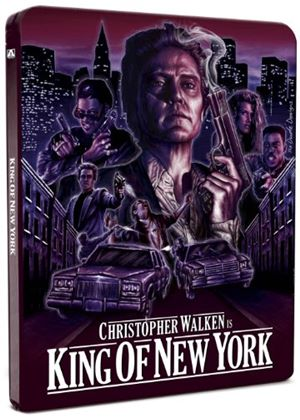 The King Of New York - Limited Edition Steel Book (Blu-Ray)