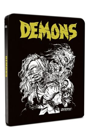 Demons / Demons 2 (Blu-Ray) (Limited Edition Steelbook)