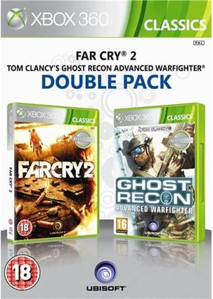Ubisoft Double Pack - Far Cry 2 / Ghost Recon: Advanced Warfighter (Xbox 360)