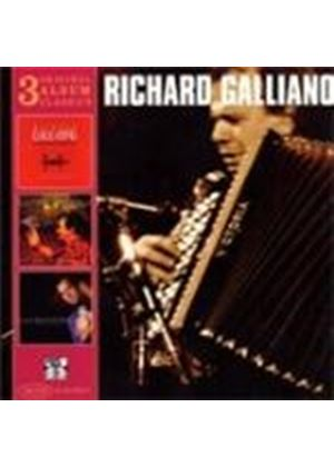 Richard Galliano - Passatori/New York Tango/Laurita (Music CD)