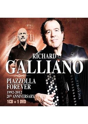 Richard Galliano - Piazzolla Forever (Live Recording) (Music CD)
