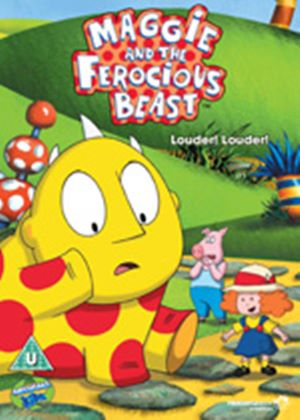 Maggie and the Ferocious Beast: Louder! Louder! (Carry Case)