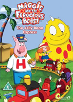 Maggie and the Ferocious Beast: The Jelly Bean Express (Carry Case)