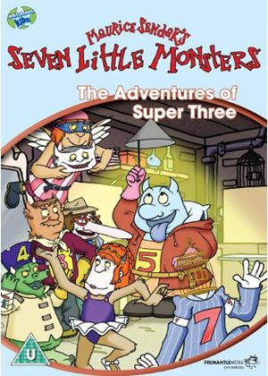 Seven Little Monsters: The Adventures of the Super Three
