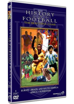 History of Football - The Beautiful Game (4 Discs)