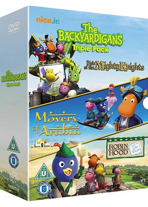 The Backyardigans Triple Pack
