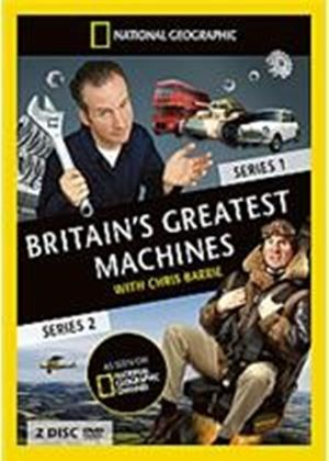 Britain's Greatest Machines With Chris Barry - Series 1 And 2 - Complete