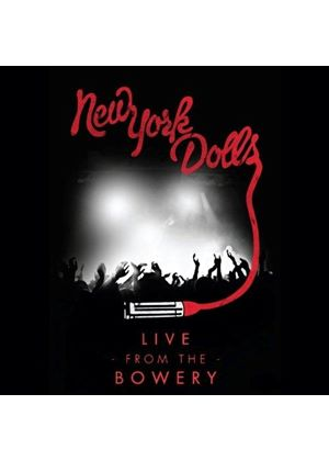 New York Dolls - Live From The Bowery (2011/Live Recording/+2DVD) (Music CD)