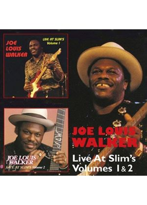 Joe Louis Walker - Live At Slims Vol 1 & 2 (Music CD)