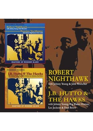J.B. Hutto - Robert Nighthawk & JB Hutto & The Hawks (Music CD)